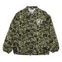 ショッピングハンター Johnny Bird Daily Wear(ジョニーバードデイリーウェア)LOGO COACH JACKET Hunter Camo ロゴコーチジャケット