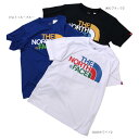 THE NORTH FACE(ザ・ノースフェイス)S/S Colorful Logo Tee 3color カラフルロゴT
