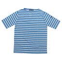 ショッピングjam SAINT JAMES(セントジェームス)ピリアック ボーダー ブルー×ホワイト
