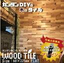 ウッドタイル 天然木 DIY 壁材 ウッドパネル レンガ調 フラットデザイン 1平米(76枚入)セット 国産杉使用の写真