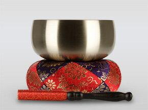 瑞竜りん 4.5寸(直径約13.5cm)おりん・おりん座布団・りん棒セット