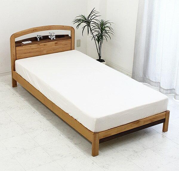 シングルベッド木製マットレス ...