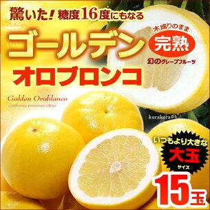 ゴールデンオロブロンコ カリフォルニア グレープフルーツ