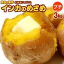 プチインカのめざめ(約3kg)北海道産 Sサイズ 秀品 越冬 じゃがいも ジャガイモ じゃが芋 送料無料
