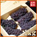 キングデラ(約1kg)山梨産 糖度20度 強烈な甘さの種無しぶどう 送料無料