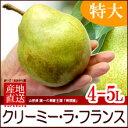 予冷熟成ラフランス4L/5L(2kg)山形産 贈答用 洋梨 ...