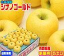 シナノゴールド家庭用 5キロ 青森りんご りんご リンゴ 常温便送料無料【CA冷蔵品】楽