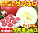 糖度13度以上保証 サンふじ 贈答用 3キロりんご 青森りんご ふじりんご ご注文順に順次発送