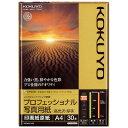 インクジェットプリンタ用紙プロフェショナル写真用紙(高光沢)A4 KJ-D10A4-30