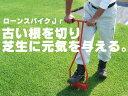 古い根を切り芝生に活力を与える★ローンスパイクJr★【キンボシGS】GS4011【RCP】