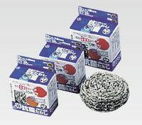 IKD18-8 抗菌 ボンボンタワシ 80g【掃除用品】【キッチン用品】【イケダ】【抗菌】【ステンレス】【業務用】