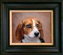 ★送料無料★  まるで本物のように!かわいいペットの 高級油絵肖像画・油絵・洋画 【12号サイズ(60.6×50.0cm)】