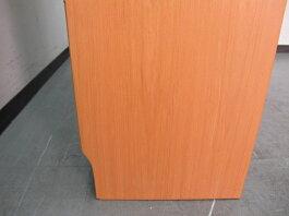 【新装開店セール】店頭引き渡し限定木製オープンラック本棚W800×D290×H2200mm【中古オフィス家具】