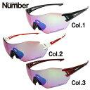 ナンバー サングラス ハイコントラストレンズ Number NB8001H 全3カラー スポーツ ユニセックス メンズ レディース