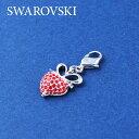 SWAROVSKI スワロフスキー社 レディースジュエリー・アクセサリー チャーム1064987 Heart Siam_charm スワロフ...