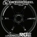 ヨコハマ アドバン レーシング RG3 RGIII アルミホイール 18×8.5J 5/114.3 +51 レーシンググロスブラック