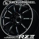 ADVAN Racing RZ2 RZII for VW/AUDI/MERCEDES アルミホイール 18×7.5J 5/112 +48 M14 レーシンググロスブラック&リング
