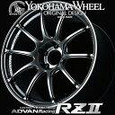ヨコハマ アドバン レーシング RZ2 RZII アルミホイール 19×9.0J 5/114.3 +45 レーシングハイパーブラック&リング