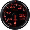 デフィ メーター レーサーゲージ (Racer Gauge) Φ52 レッド 圧力計 (油圧計・燃圧計) 送料無料