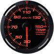 デフィ メーター レーサーゲージ (Racer Gauge) Φ52 レッド 温度計 (油温計・水温計) 送料無料