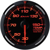デフィ Defi レーサーゲージ (Racer Gauge) Φ52 レッド 温度計 (油温計・水温計)