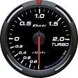 デフィ Defi レーサーゲージ (Racer Gauge) Φ60 ホワイト ターボ計