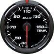 デフィ Defi レーサーゲージ (Racer Gauge) Φ60 ホワイト 温度計 (油温計・水温計)