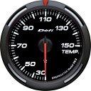 デフィ メーター レーサーゲージ (Racer Gauge) Φ60 ホワイト 温度計 (油温計・水温計) 送料無料