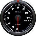 デフィ Defi レーサーゲージ (Racer Gauge) Φ60 ホワイト 排気温度計