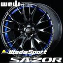 WEDS WedsSport SA20R SA-20R アルミホイール 18×7.5J 5/100 +45 ブルーライトクローム2
