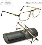 【カザール メガネ】CAZAL メガネフレーム mod7031 001【伊達メガネ用レンズ無料!!】【あす楽対応】【到着後レビューで】