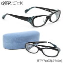 【Qbrick】(キューブリック) メガネ フレーム BTY7603 59サイズ スクエア BLAISE ブレーズキューブリック QBRICK メンズ レディース