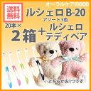 【ルシェロくま付】40本(2箱)GCルシェロ歯ブラシ B-20【メール便不可】【送料無料】