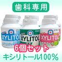 【歯科専用】キシリトールガム ボトル 6個 SALE【メール便不可】ガムオーラルケア キ