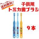 【全国送料無料】トミカ歯ブラシ 普通 3色アソート 9本