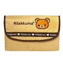 【ゆうパケット送料無料】ベルコット リラックマ ジャバラ式 マルチケース (母子手帳ケース)  RK-029 ブラウン
