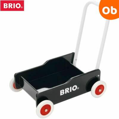 BRIO(ブリオ) 手押し車 ブラック【送料無料 沖縄・一部地域を除く】