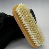 [3150]容易确定日元左右的时间内戈西白色猪鬃刷宝石鞋刷(白头发)[JEWEL 靴用ブラシ(白毛)【あす楽対応】靴磨き 靴ブラシ]