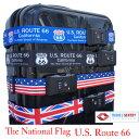 【ネコポスは送料無料】TSAロック付きスーツケースベルトかっこよく 目立つデザインで 自分のスーツケースの目印にも最適です!ルート66 Route66 アメリカ旅行 イギリス国旗 星条旗 ユニオンジャック