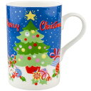 [Christmas-limited] Cath Kidston (Cath Kidston) Christmas scene pattern mug cup / tableware [regular article] [_ Kanto tomorrow for comfort] [YDKG-m]