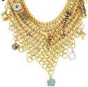 ディズニークチュール(Disney Couture)ティンカーベル マルチチャーム&チェーンネックレス