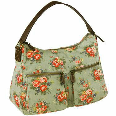Cath Kidston (Cath Kidston) Teflon processing leather shoulder bag (バンチフラワー) fs3gmfs2gm