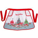 A Cath Kidston (Cath Kidston) Christmas tree pattern half apron [regular article] [_ Kanto tomorrow for comfort] [YDKG-m]