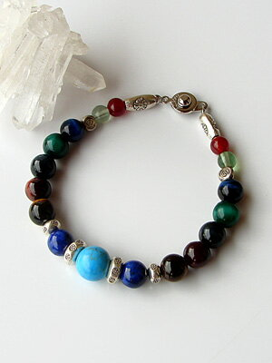 Pass prayer victory power stone bracelet