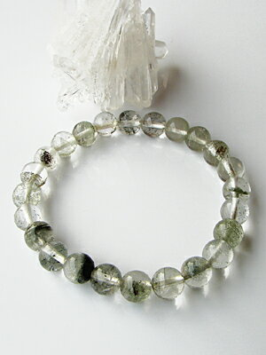 Natural Himalayan Crystal Bracelet 8 mm