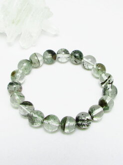 AAAA grade ガネッシュヒマール produced (made in Himalayas) luxury natural Himalayan Crystal bracelet 10 mm