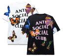 【2020年春夏新作】アンチソーシャルソーシャルクラブ(ANTI SOCIAL SOCIAL CLUB)Tシャツ バタフライ 蝶 ブラック ホワイト ASSC【あす楽対応_関東】