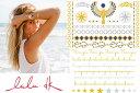 ショッピングシール フラッシュタトゥー/LULU DK(ルルディーケー)ジュエリータトゥー/Golden I Jewelry Tattoos/テンポラリータトゥー/タトゥシール/ボディシール