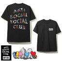アンチソーシャルソーシャルクラブ(ANTI SOCIAL SOCIAL CLUB)×BT21 コラボTシャツ ブラック 防弾少年団 BTS ASSC【あす楽対応_関東】