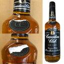 【訳あり/ラベル破れ】カナディアンクラブ ブラックラベル 700ml 40% ウイスキー[Canadian ClubBlack Label Whisky/ラベル破れ/アメリカ]